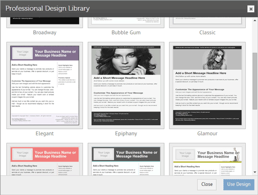 Marketing Design Library, work from home