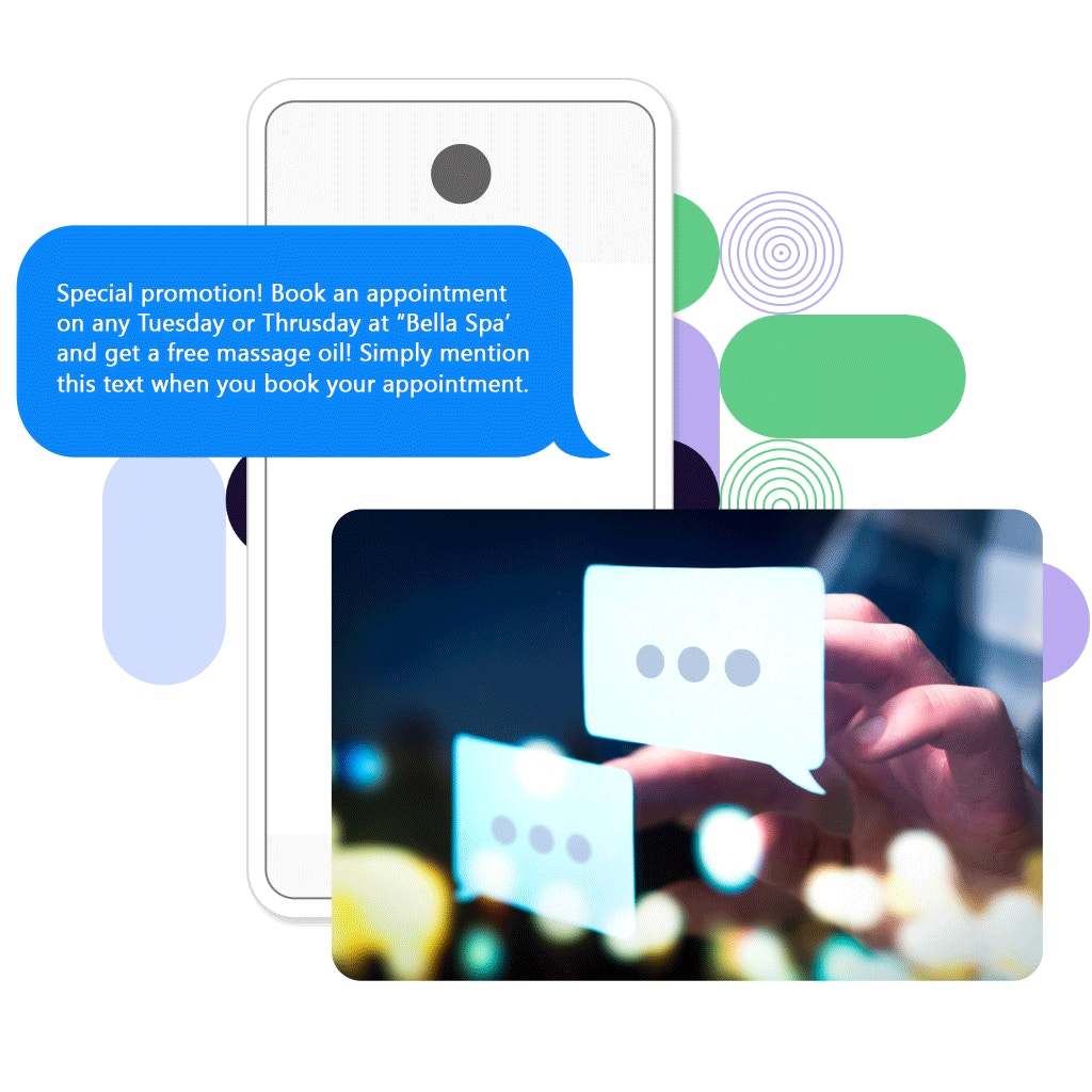 text marketing promote